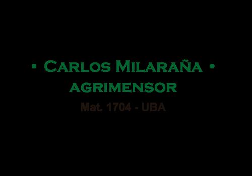 Logo AGRIMENSOR MILARAÑA, CARLOS