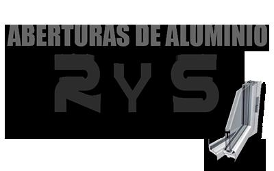 Logo R Y S ABERTURAS DE ALUMINIO