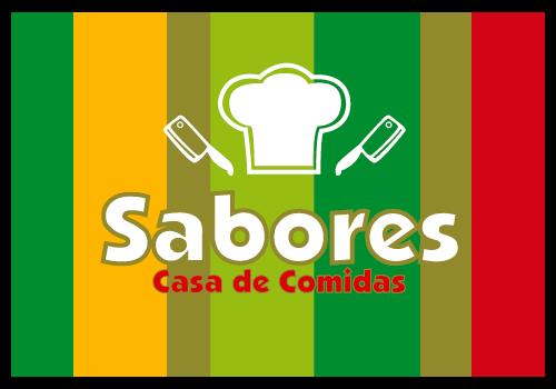 Logo SABORES CASA DE COMIDAS